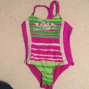 Zeroxposur one piece girls swimwear swimsuit